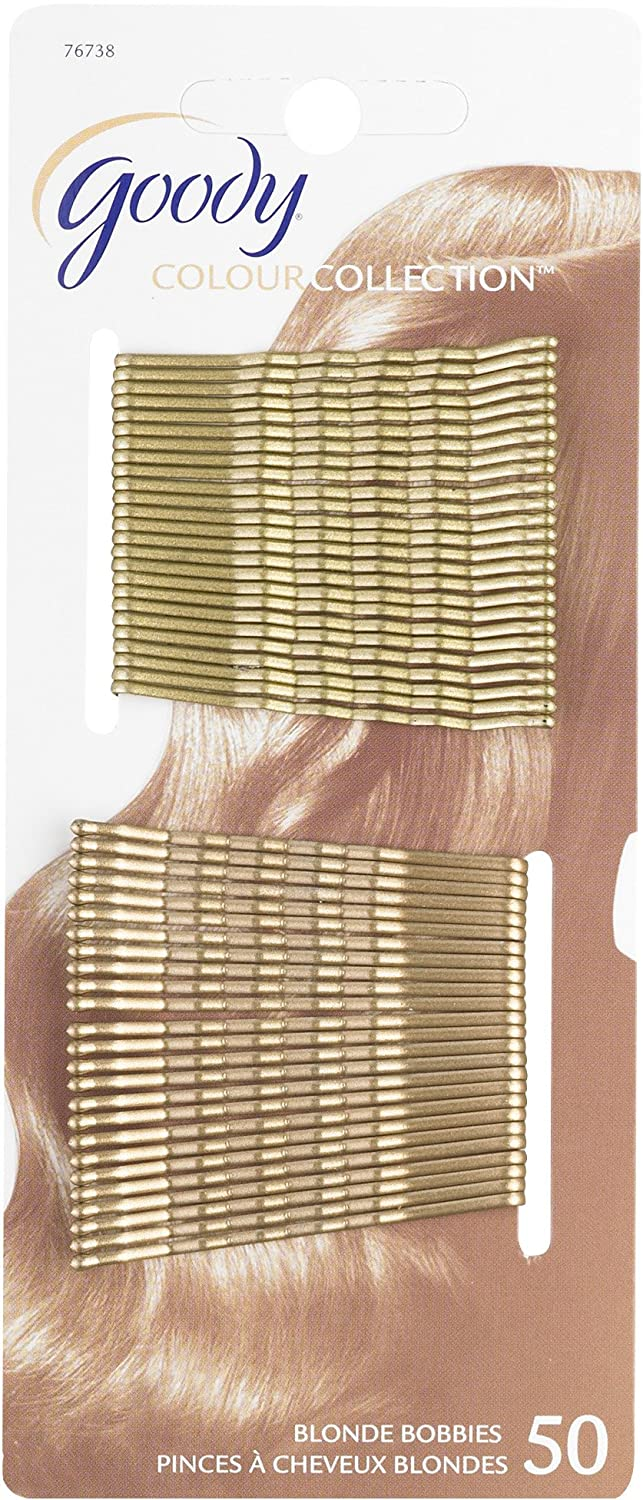 Goody Bobby Pins, Blonde, 50-count (1942456) 76738