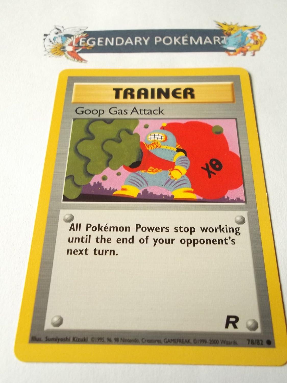 Verzamelkaarten, ruilkaarten Pokemon Team Rocket Common Card #78/82 Goop Gas Attack