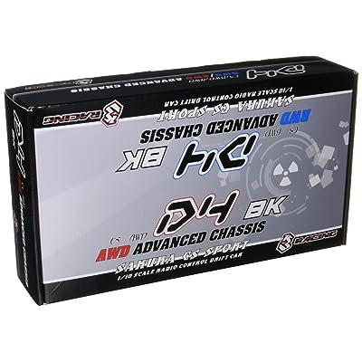 3Racing RC Model KIT-D4RWDS/BK 3RACING Sakura D4 Sport Black Edition 1/10 Drift Car Kit (RWD): Toys & Games