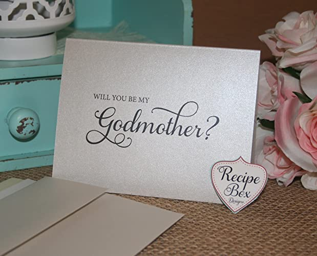 Amazon will you be my godmother handmade will you be my godmother m4hsunfo