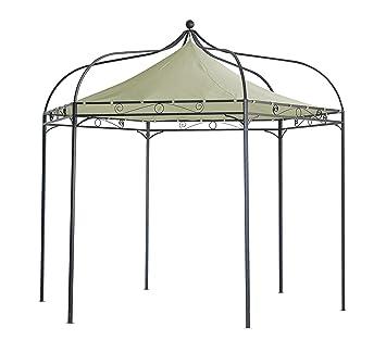 Amazon De Degamo Luxus Pavillon Modena 6 Eckig 320cm Dach