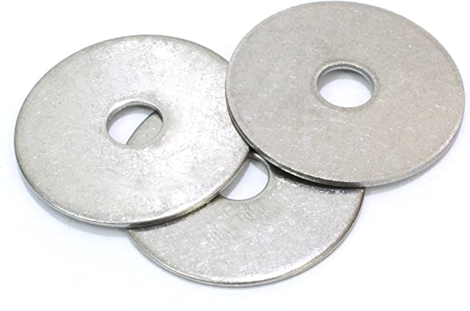 """500 1//2x2 Fender Washers Stainless Steel 1//2/"""" x 2/"""" Large OD Washers"""