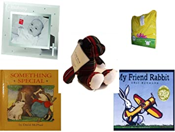 Childrens Gift Bundle - Ages 0-2 [5 Piece] Includes: Russ Berrie