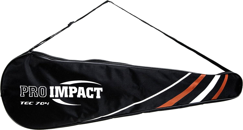 Amazon.com: Pro Impact Graphite - Raqueta de squash de ...