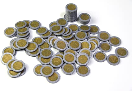 2 Euro 100 St. monedas dinero parte Dinero €: Amazon.es: Oficina y ...