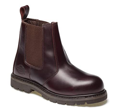 Botas de seguridad Dickies, color Marrón, talla 40 EU