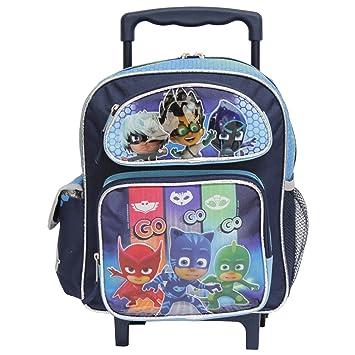 Pequeño Rolling Backpack – PJ máscara – Equipo go-go-go mochila escolar 155401