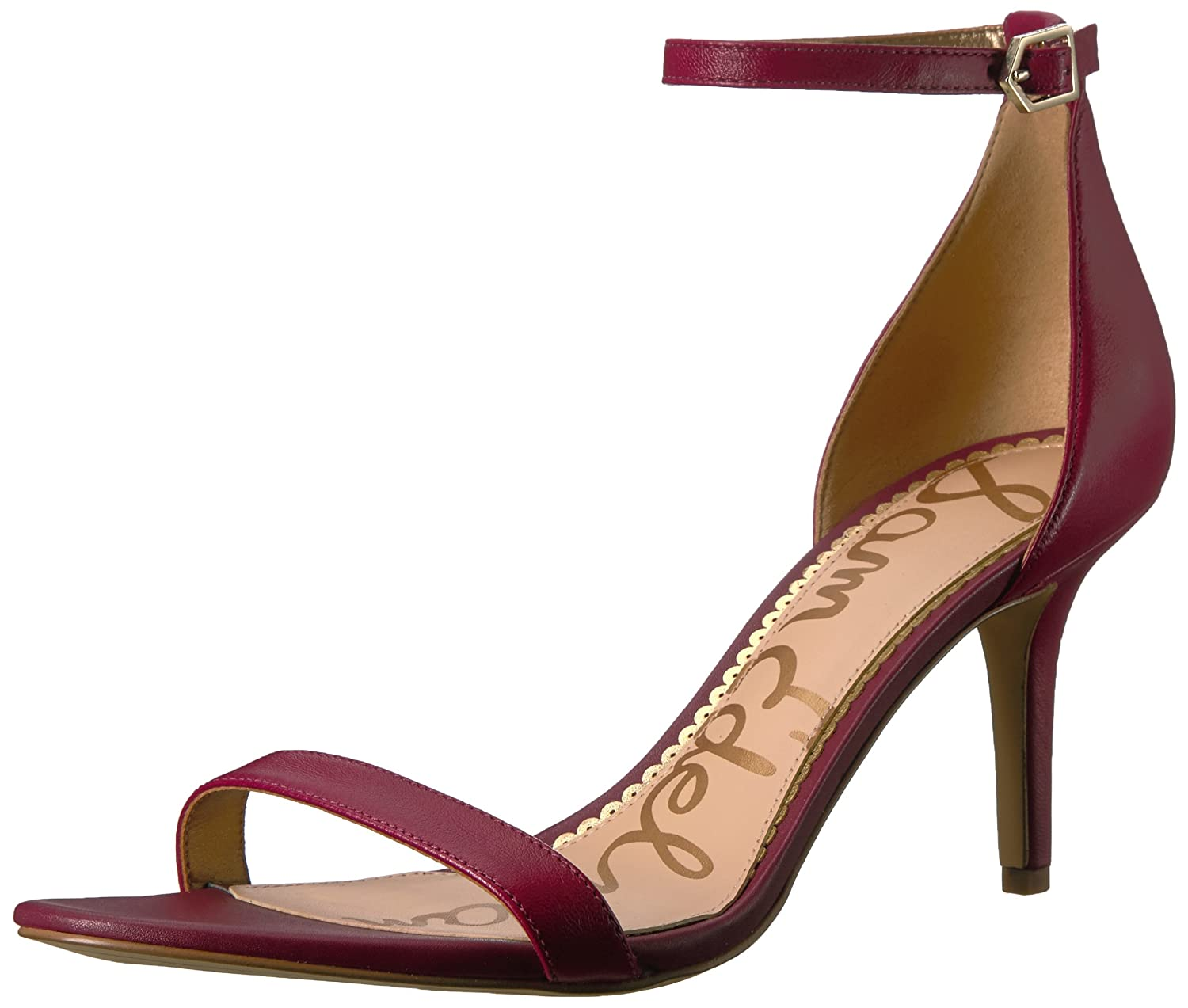 Cranberry Leather Sam Edelman Women's Patti Fashion Sandals