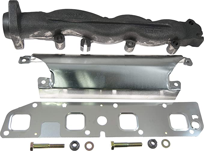 Amazon Com Apdty 53032198ae Exhaust Manifold Right Passenger Side For 5 7l Hemi Found On 2003 2008 Dodge Ram 1500 2500 3500 Pickup 2004 2008 Dodge Durango 2007 2008 Chrysler Aspen Exhaust Manifold Only Automotive