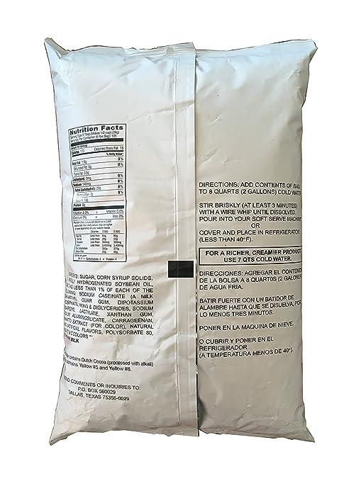 Vanilla Soft Serve Powder Ice Cream Mix: Amazon.com: Grocery & Gourmet Food
