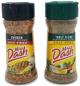 Mrs Dash Salt Free Seasoning Chicken and Table Blend Variety Pack (2.5 oz, 1 each)