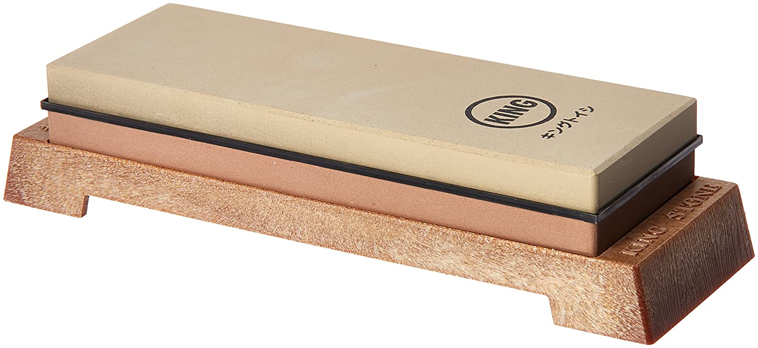 KING KW65 Whetstone with Plastic Base