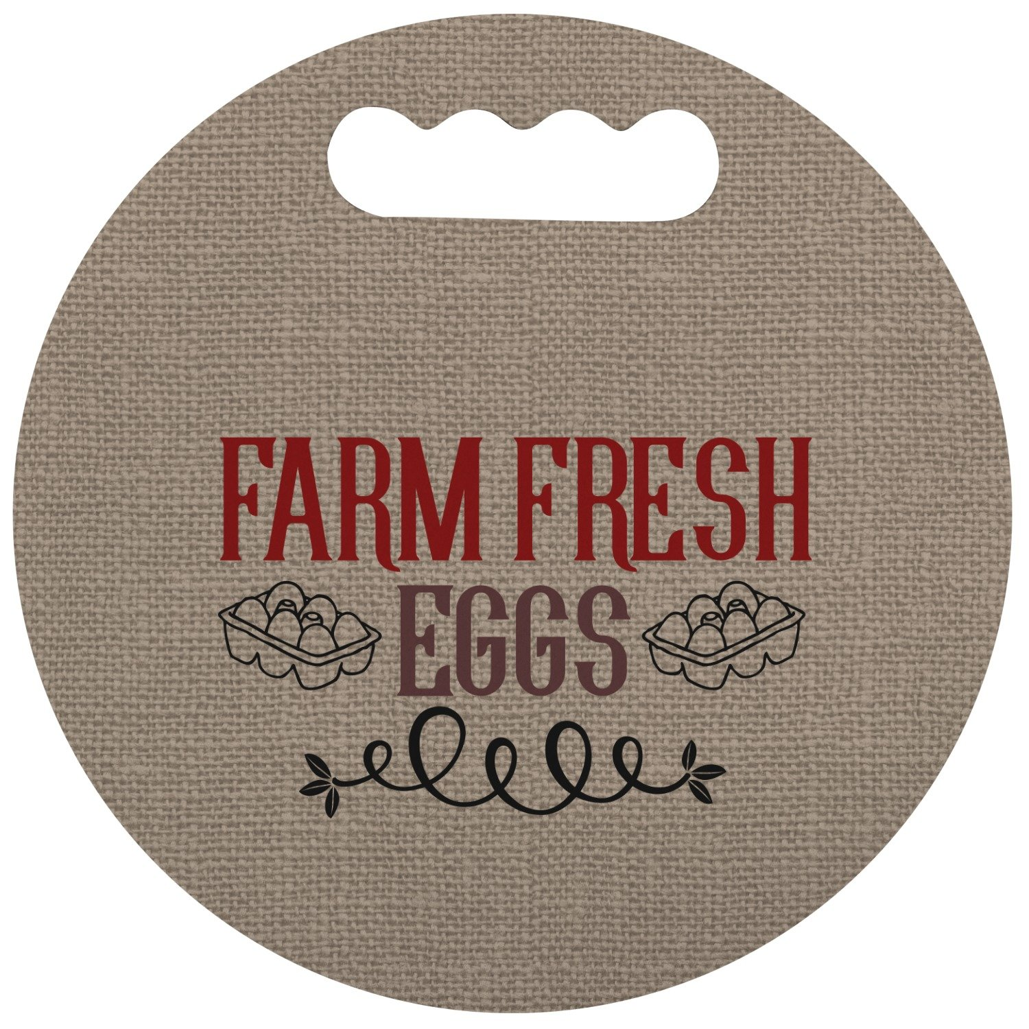 Amazon.com : RNK Shops Farm Quotes Stadium Cushion (Round) (Personalized) : Sports & Outdoors
