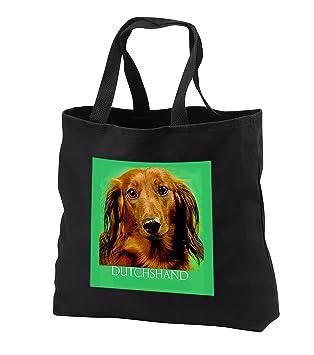 Amazon.com: Perros Dachshund – Perro salchicha – Tote Bolsas