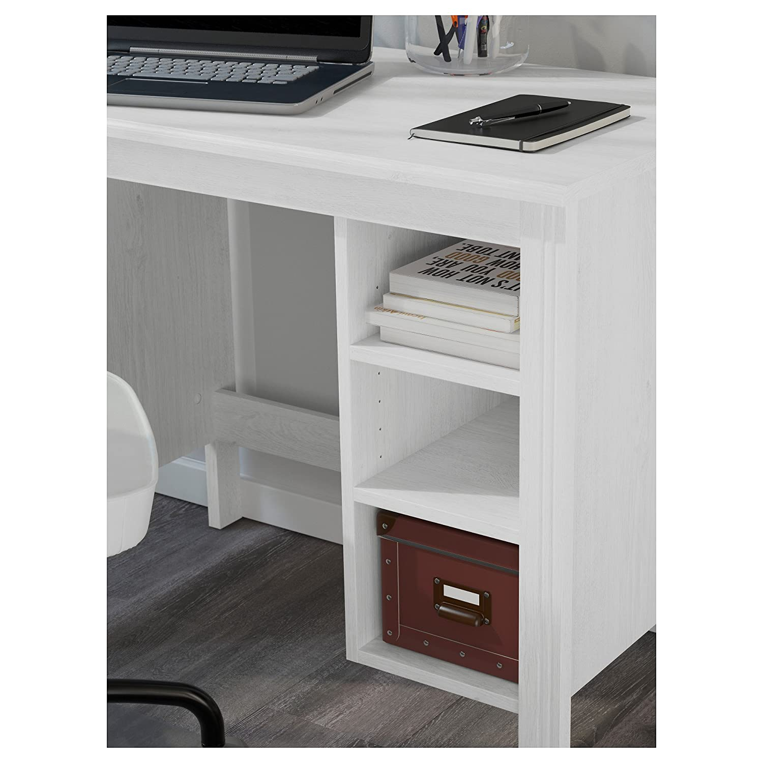 ZigZag Trading Ltd IKEA BRUSALI – Escritorio Blanco: Amazon.es: Hogar