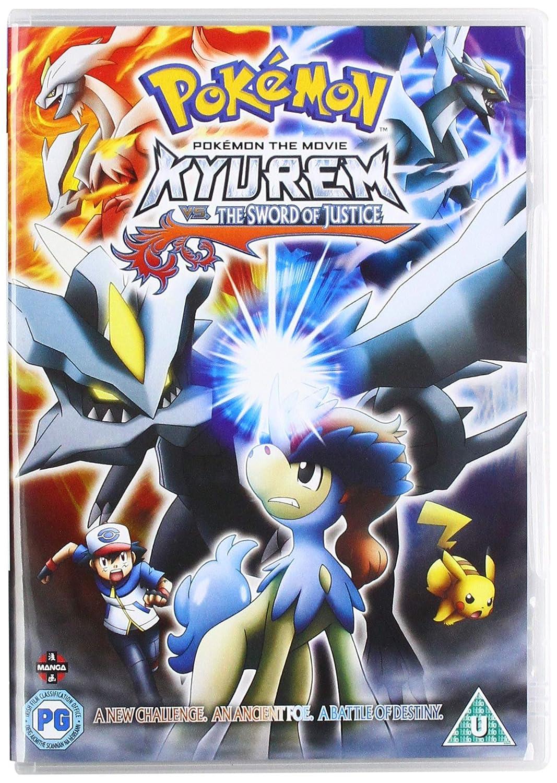 Amazon Com Pokemon Movie 15 Kyurem Vs The Sword Of Justice Dvd