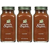 Simply Organic Cayenne Pepper Certified Organic, 2.89 oz Containers, 3 pk