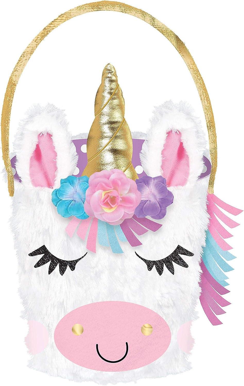 Unicorn bunny basket