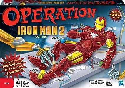 Amazon.com: Operación Iron Man 2 edición: Toys & Games