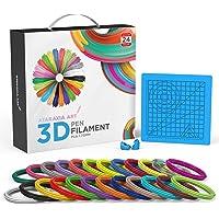 Ataraxia Art 3D Pen PLA 1.75mm Filament V2. Comes in 10 M (787 ft) or 5 M Lengths (393 ft). 24 Beautiful Colors. 4…