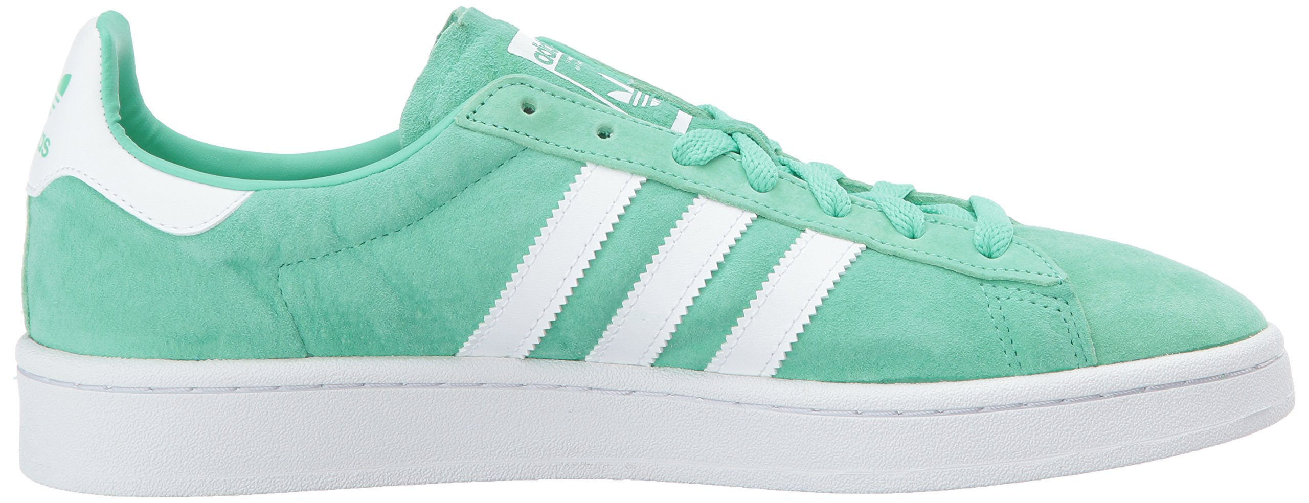 adidas Originals Men's Campus Sneakers -, Green Glow Crystal White, (11 M US) by adidas Originals (Image #7)