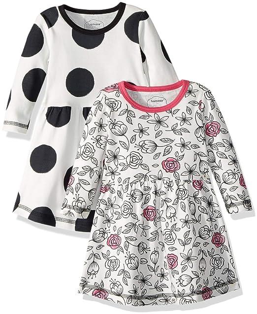 d1c5a59b8 Amazon.com: Lamaze Baby Girls Organic 2 Pack Dress Set: Clothing