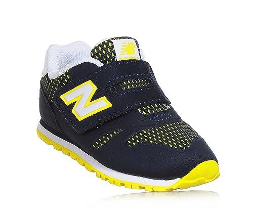 new balance bambino blu giallo