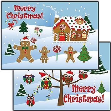Weihnachtskarten Comic.Weihnachtskarten Set Grußkarten Weihnachten Weihnachtspostkartenset