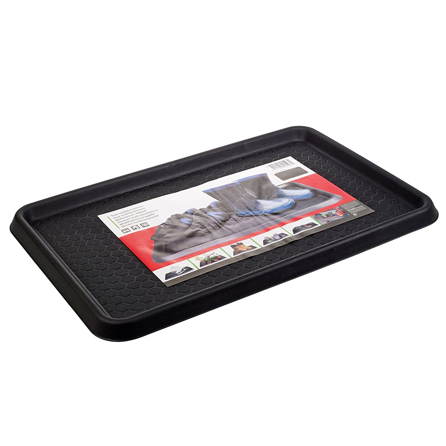 Multifunctional Car Van Boot Tray Home Or Garden Storage Mat (Black) Panorama Gifts