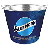 Boelter Brands Moon Metal Bucket, 5 Quarts, Blue