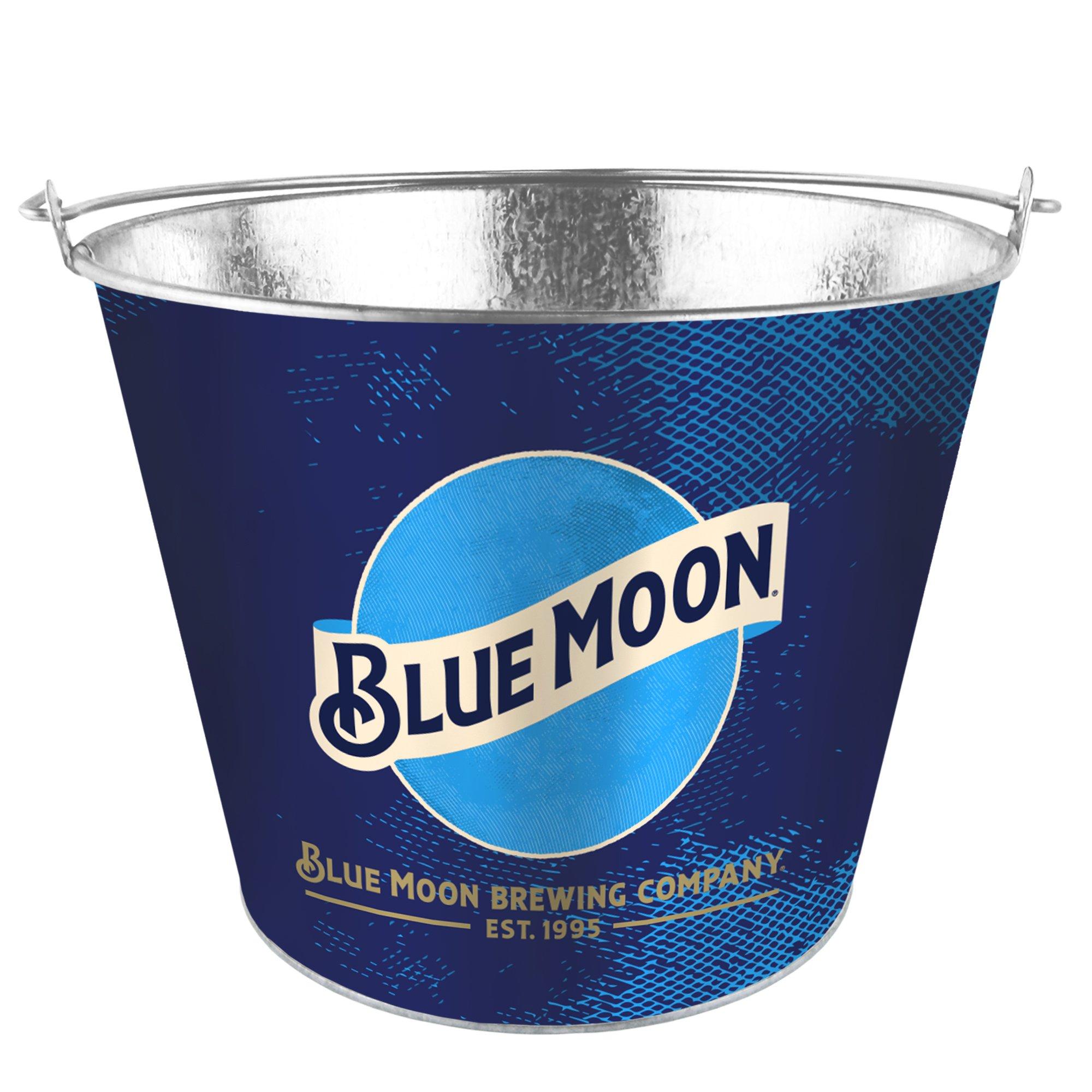 Boelter Brands Moon Metal Bucket, 5 Quarts, Blue by Boelter Brands