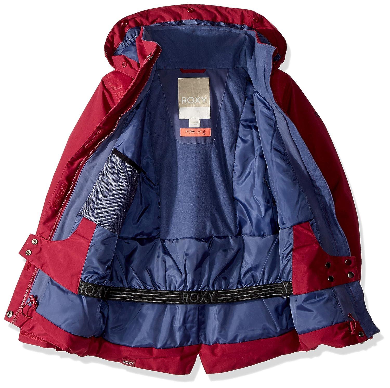 537123df2 Amazon.com  Roxy Big Girls  Tribe Snow Jacket  Clothing