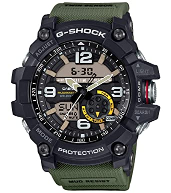 026e53d63810 Buy Casio G-Shock Analog-Digital Black Dial Men s Watch - GG-1000-1A3DR  (G662) Online at Low Prices in India - Amazon.in