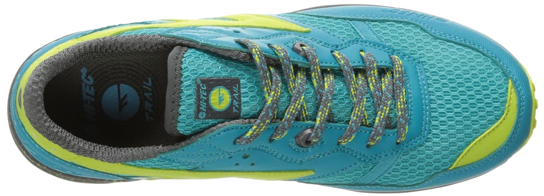 Hi-Tec Women's Badwater Trail Runner B01HNL6UI4 9.5 D US|Tile Blue/Blue Curacao/Blarney