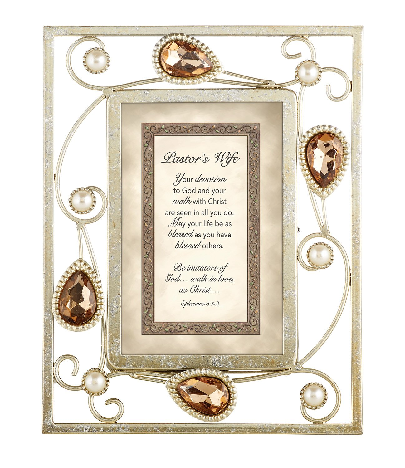 CB Gift Heartwarming Expressions Pastor's Wife Metal Framed Print