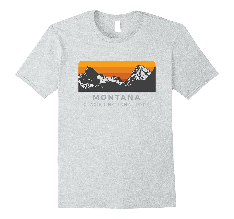 Glacier NP T-Shirt Sunset Edition-TJ