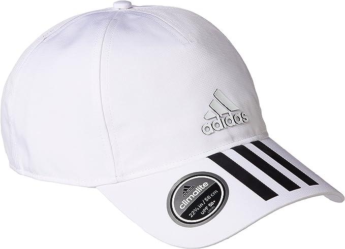 adidas 6P 3S Clmlt Cap Gorra de Tenis, Hombre, Blanco (Blanco ...