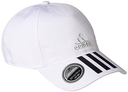 adidas 6P 3S Clmlt Cap Gorra de Tenis, Hombre, Negro/Blanco, M