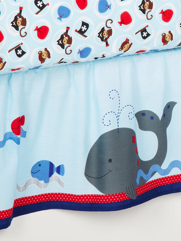 Amazon Bedtime Originals 3 Piece Treasure Island Crib Bedding Set Lamb Ivy Baby