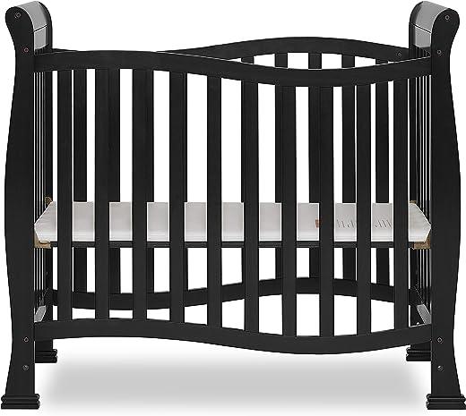 Dream On Me, Violet Mini Crib, Black