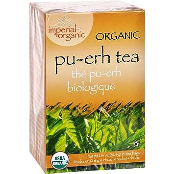 Uncle Lee s Imperial Organic Pu-Erh Tea - 18 Tea Bags - Certified organic and kosher