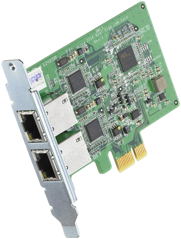 QNAP LAN-1G2T-D - Tarjeta de Red con 2 Puertos