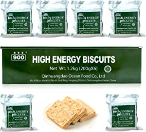 900 Emergency High Energy Biscuits for 4 Day Emergency Food Rations Survival Bar Camping