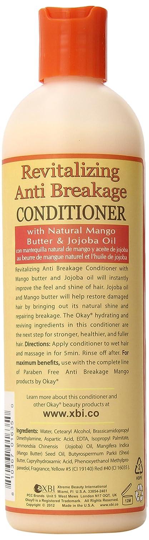 Amazon.com : Okay Mango Revitalizing Anti Breakage Conditioner, 12 Ounce : Standard Hair Conditioners : Beauty