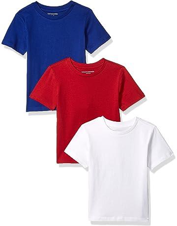 a41db63c19d Amazon Essentials Boys  3-Pack Short Sleeve Tee