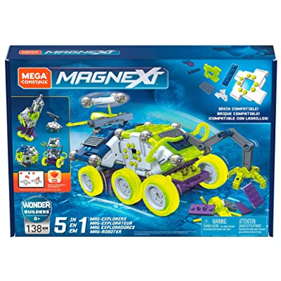 Mega Construx Magnext 5-in-1 Mag-Explorers: Toys & Games