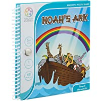 SmartGames SGT240-8 Noah's Ark Magnetic Travel Puzzle Game