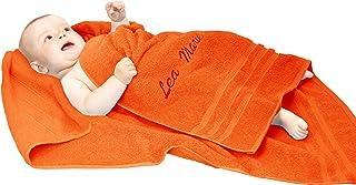 Lashuma XXL Kinder Duschtuch 100x100 cm, Baby Badehandtuch aus Weichem Frottee, Baumwoll Kinderbadetuch Grau - Anthrazit