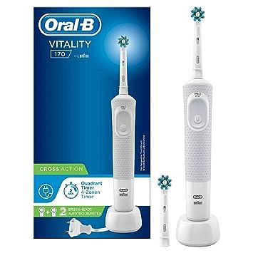 Oral-B Vitality 170 Crossaction Eléctrico, Blanco: Amazon.es ...