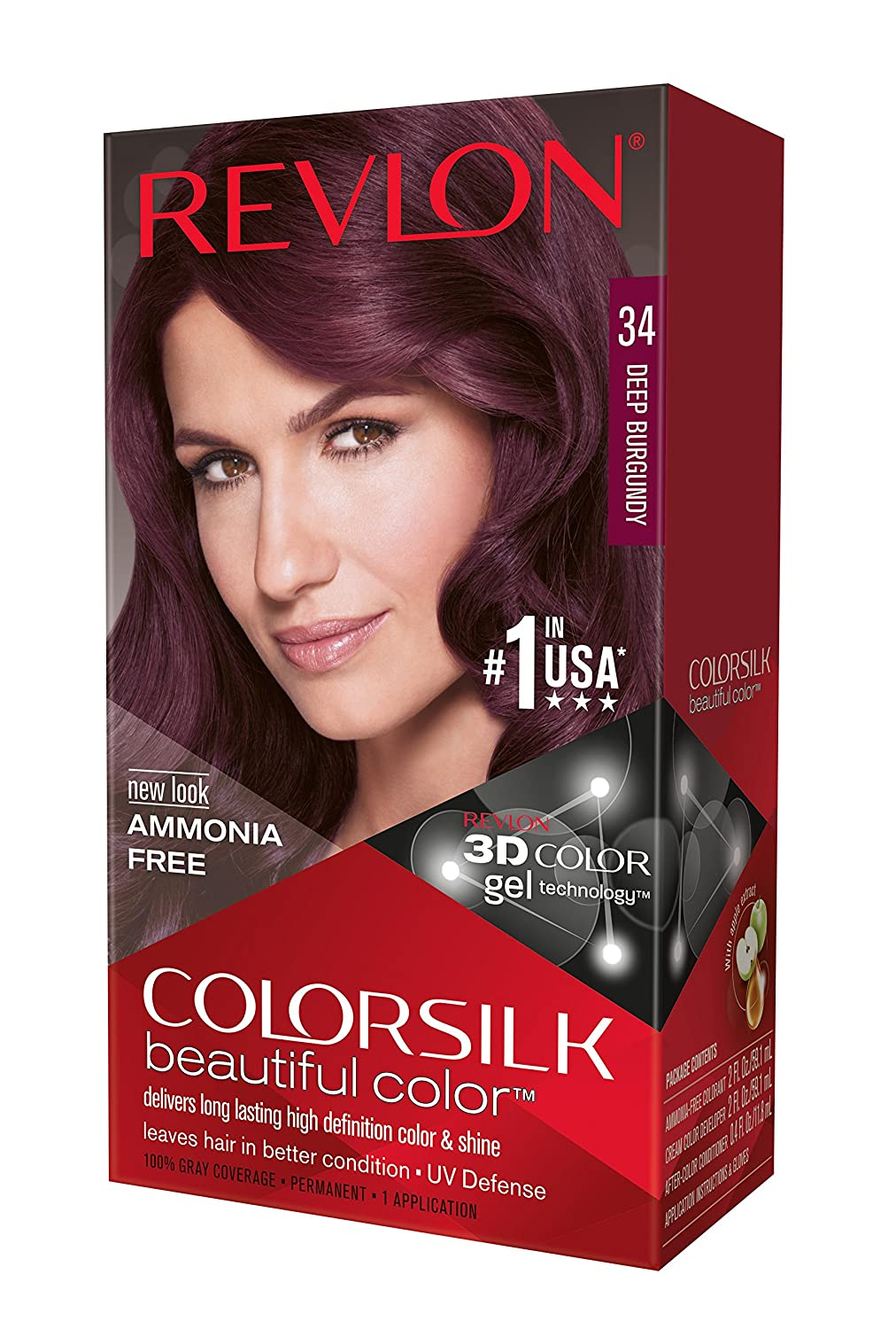 Amazon.com: Revlon Colorsilk Beautiful Color Hair Color, Dark ...